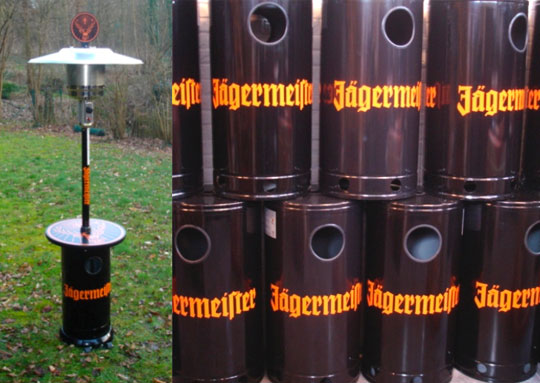 Jagermeister patioheaters